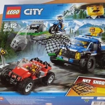 LEGO City 60172 (Policja) Pościg górską drogą