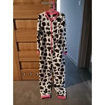 Kombinezon piżama krowa dziewczynka na 10-11 lat