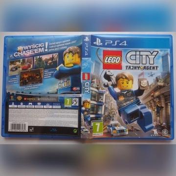 LEGO CITY TAJNY AGENT PS4
