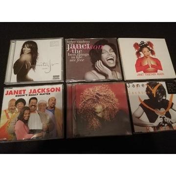 6 x CD JANET JACKSON Pop DAMITA JO Albumy Single