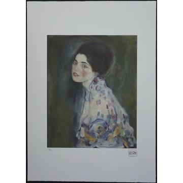 Gustav Klimt - Portret kobiety - 70x50cm