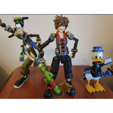 Figurki Kingdom Hearts Bring Arts