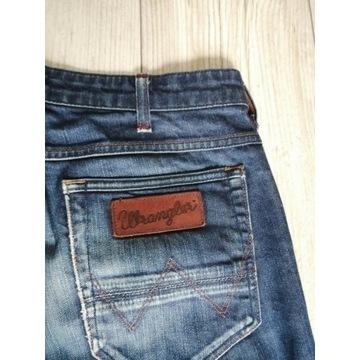 Jeansy spodnie męskie Wrangler Greensboro 33/34