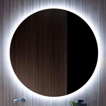 Lustro łazienkowe okrągle, podświetlane led! 70cm