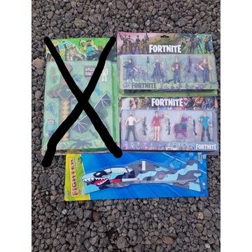 Zabawki ZESTAW HURT samolot figurki Fortnite