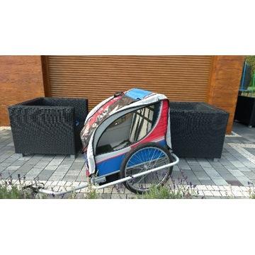 Przyczepka rowerowa riksza wózek rowerowy