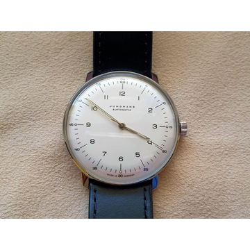Zegarek Junghans Max Bill Automatic + dodatki