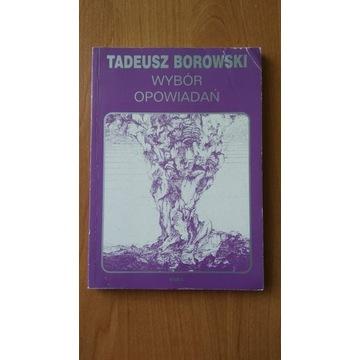 Tadeusz Borowski - wybór opowiadań