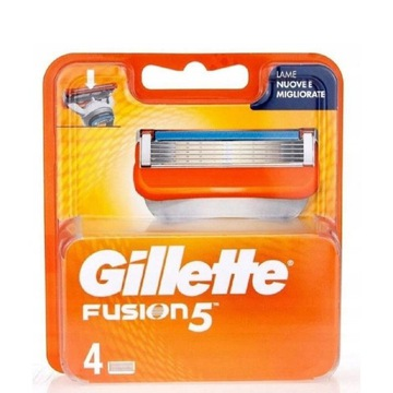 Gillette Fusion wkłady nożyki 4szt