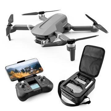 Dron F4 GPS WiFi FPV 4k Gimbal 2x AKU zasięg 2000m
