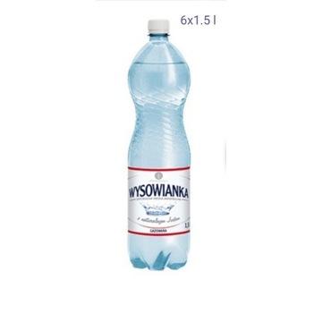 Wysowianka 6 x 1,5 l Gazowana zawiera jod