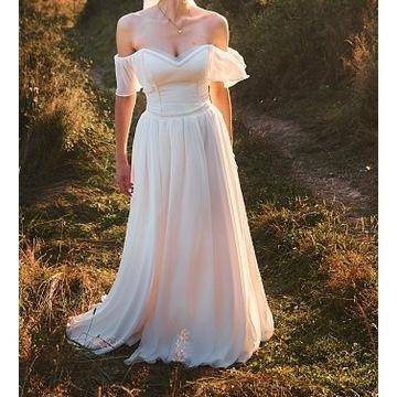 Suknia ślubna, welon gratis w zestawie