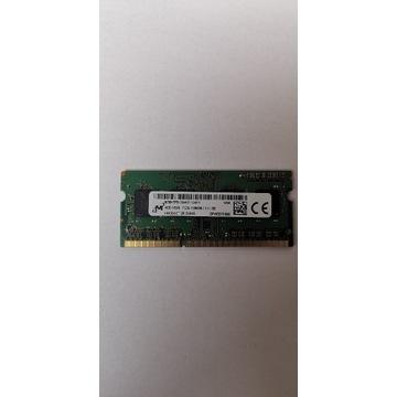 Pamięć RAM do laptopów(SO-DIMM).MICRON 4GB DDR3L