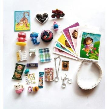 Miniatury dla lalek -Ugly Dolls, biżuteria i inne