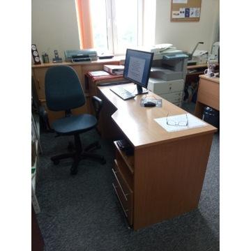 Fotele obrotowe ciemnoszare do biura/domu
