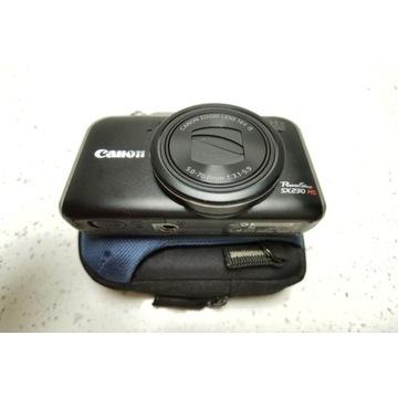 CANON POWERSHOT SX230 HS GPS + 2 SD JAK NOWY!!!
