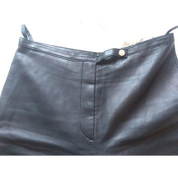 Spodnie damskie z skóry firmy MARK AUREL