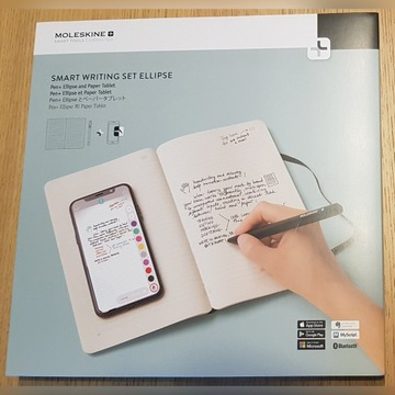 Zestaw Moleskine Smart Writing Set Ellipse