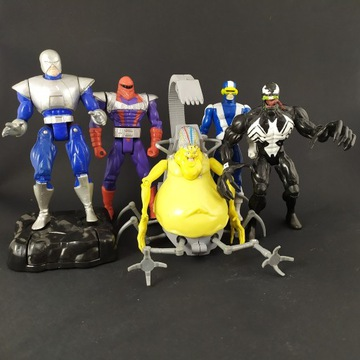 5 figurek Toybiz Retro Vintage X-Men Marvel