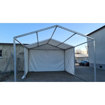 Hala namiotowa używana, aluminiowa, magazyn, wiata