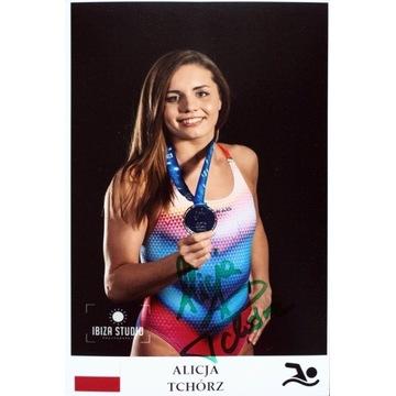 ALICJA TCHÓRZ autograf