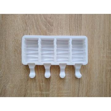 Forma silikonowa do lodów na patyku cakesicles