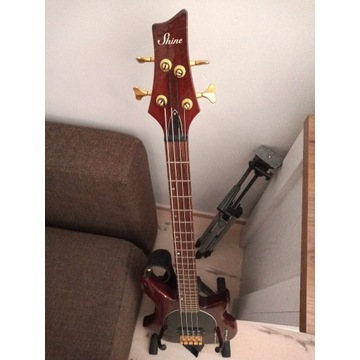 Gitara basowa Shine elektronika Seymour Duncan