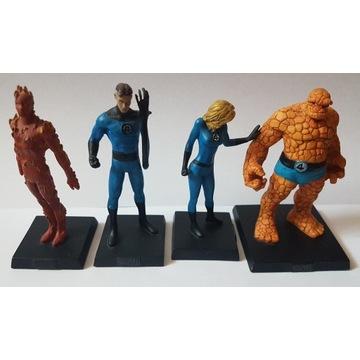 Figurki Marvel Eaglemoss - Fantastyczna Czwórka