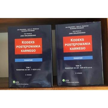 KPK, komentarz, J.Grajewski (red.), Tom 1-2, 2010