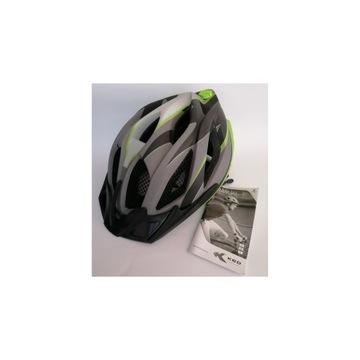 Kask dziecięcy rowerowy KED SIRI II 55-61 cm  L