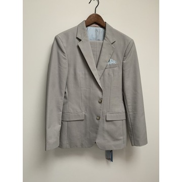 Szary garnitur Zara roz 48