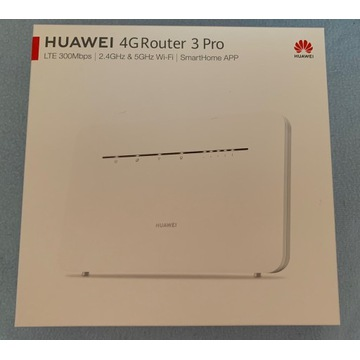 Huawei 4G Router 3 Pro nowy zaplombowany