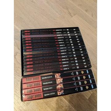 Kolekcja DVD Rodzina Soprano