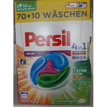 NIEMIECKIE kapsułki do prania PERSIL 80 SZT