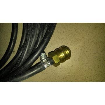 Wąż fi 8mm do sprężonego powietrza z szybkozłączką