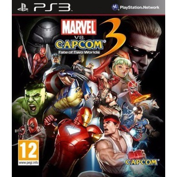 Marvel vs Capcom 3 - Fate of Two Worlds Ps3