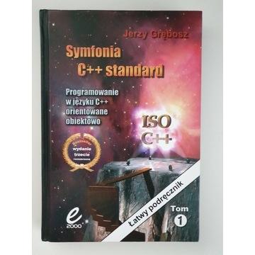 Symfonia C++ standard Jerzy Grębosz