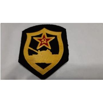 Oryginalna naszywka ZSRR czołgista