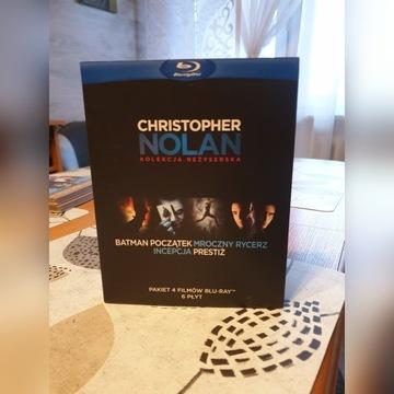 Christofer Nolan kolekcja reżyserska blu-ray