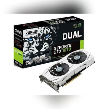 Karta Graficzna ASUS GeForce GTX1070 Dual 8GB DDR5