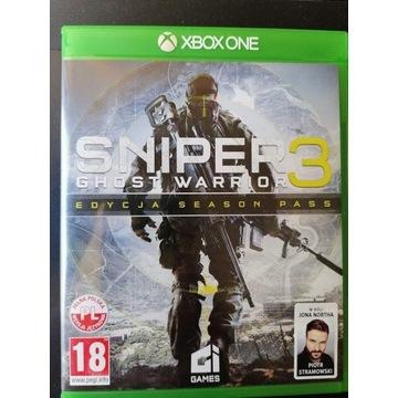 Gra SNIPER 3 GHOST WARRIOR Gra na konsole Xbox One