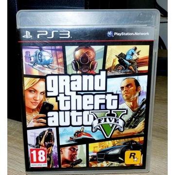 GRA NA KONSOLĘ PS3 Grand Theft Auto FIVE GTA V