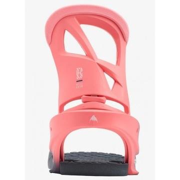 Damskie wiązania Burton Stiletto Pink Fade 2020