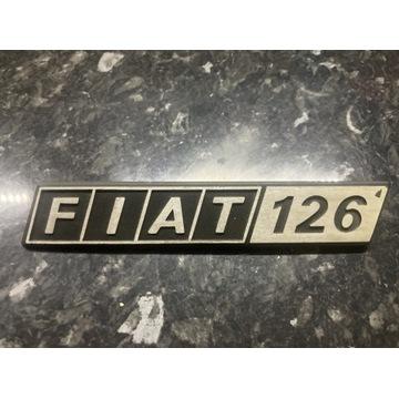 Znaczek emblemat Fiat 126p