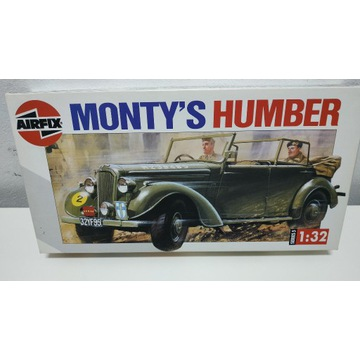 Monty's Humber AIRFIX 1:32