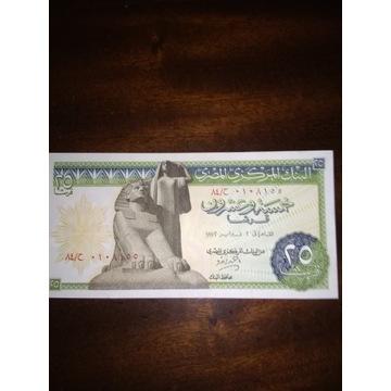 Egipt 25 piastres