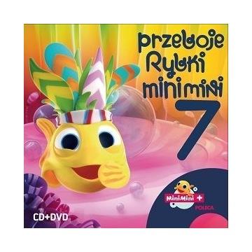 Przeboje Rybki Mini Mini. Volume 7 CD i DVD