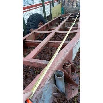 Przyczepa do transportu drewna