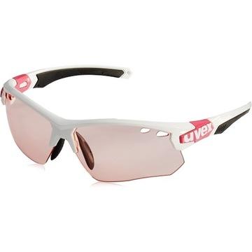Nowe damskie okulary UVEX sportstyle 109 różowe