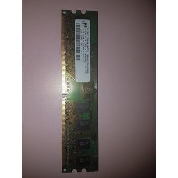 Micron MT8HTF12864AY-667E1 1GB 5300 667 w 1 kości
